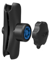 "RAM-201-SU - RAM Double Socket Arm with RAM® Pin-Lock™ Security Knob and Key Knob for C Size 1.5"" Balls"