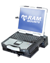 RAM-234-PAN1P - RAM Composite Tough-Dock™ Powered Docking Station with Port Replication and SINGLE RF PASS THROUGH, for Panasonic Toughbook® CF-28, CF-29, CF-30 and CF-31