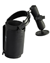 "RAM-B-132U - RAM 1"" Ball Mount with Round Base, Level Cup™ Drink Holder & Koozie"
