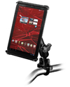 "RAM-B-149Z-TAB-SM - RAM Handlebar Rail Mount with Zinc Coated U-Bolt Base for 7"" Screen Tablets"