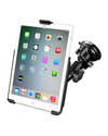 RAM-B-166-AP14U - RAM Twist Lock Suction Cup Mount with EZ-Roll'r™ Model Specific Cradle for the Apple iPad mini 1-3 WITHOUT CASE, SKIN OR SLEEVE