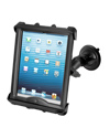 "RAM-B-166-TAB8U - RAM Twist-Lock™ Suction Cup Mount with Tab-Tite™ Universal Spring Loaded Cradle for 10"" Tablets including HEAVY DUTY CASES"