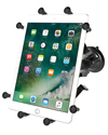 "RAM-B-166-UN9U - RAM Twist-Lock™ Suction Cup Mount with Universal X-Grip® Cradle for 10"" Large Tablets"