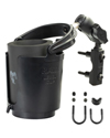 RAM-B-174-A-132U - RAM Level Cup™ Drink Holder with Short Length Arm and Motorcycle Brake/Clutch Reservoir Base