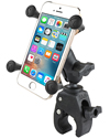 RAM-B-400-A-HOL-UN7BU - RAM Small Tough-Claw™ Base with Short Double Socket Arm and Universal X-Grip® Cell/iPhone Cradle