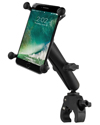 RAM-B-400-C-UN10U - RAM Small Tough-Claw™ Base with Long Double Socket Arm and Universal X-Grip® Large Phone/Phablet Cradle
