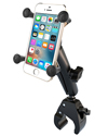 RAM-B-400-C-UN7U - RAM Small Tough-Claw™ Base with Long Double Socket Arm and Universal X-Grip® Cell/iPhone Cradle