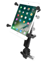 "RAM-B-400-C-UN8U - RAM Small Tough-Claw™ Base with Long Double Socket Arm and Universal X-Grip® Cradle for 7""-8"" Tablets"