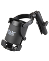 RAM-B-417B-C-201U - RAM Level Cup™ XL with Long Double Socket Arm