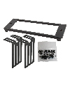 "RAM-FP3-6940-2380 - RAM Tough-Box™ Console Custom 3"" Faceplate.  Accommodates Dimensions: 6.94"" x 2.38"""