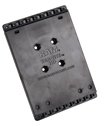 RAM-HOL-ACNHU - RAM® Universal Tab-Tite™ Backplate (Hardware Not Included)