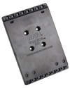 RAM-HOL-ACNU - RAM® Universal Tab-Tite™ Backplate with Fixed Mounting Screws