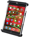 RAM-HOL-TAB12U - RAM Tab-Tite cradle for iPad Mini 1,2,3,4 With or Without a Light Duty Case