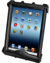 RAM-HOL-TAB17U - RAM Tab-Tite™ Universal Spring Loaded Cradle for the Apple iPad 1-4 with LifeProof & Lifedge Cases
