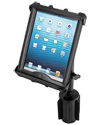 "RAP-299-3-C-TAB8U - RAM-A-CAN™ II Universal Cup Holder Mount with Tab-Tite™ Universal Spring Loaded Cradle for 10"" Tablets including HEAVY DUTY CASES"
