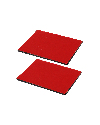 RAP-300-1SU - Qty. 2 Rectangle Steel Adhesive Plates for RAM Power Plate™ Series
