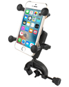 RAP-B-121-UN7U - RAM Universal Composite Clamp Mount with Universal X-Grip® Cell Phone Cradle