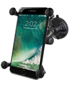 RAP-B-166-2-UN10 - RAM Composite Twist-Lock™ Suction Cup Mount with Universal X-Grip® Large Phone Holder