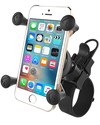 RAP-SB-187-UN7U - RAM EZ-Strap™ Rail Mount with Universal X-Grip® Cell Phone Cradle